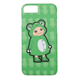 Little Frog Rain Coat iPhone 7 Case