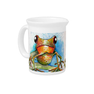 Little Froggy Design Drink Pitchers