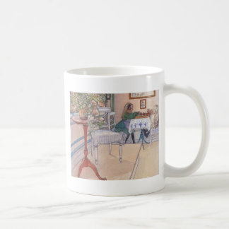 Little Game of Chess Coffee Mug