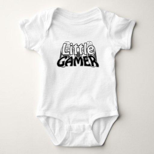 Little Gamer Black Baby Bodysuit