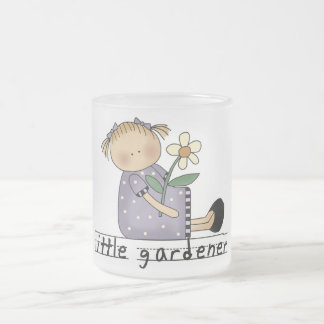 Little Gardener Tshirts and Gifts 10 Oz Frosted Glass Coffee Mug