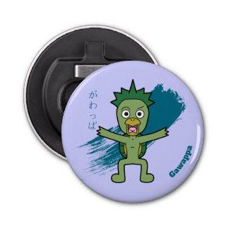 Little Gawappa Yokai Button Bottle Opener