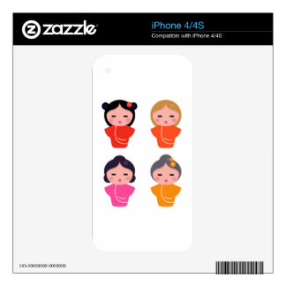 Little geisha edition : T-shirts and more Decals For iPhone 4S