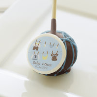Little Gentleman Baby Boy Shower Party Treats Cake Pops