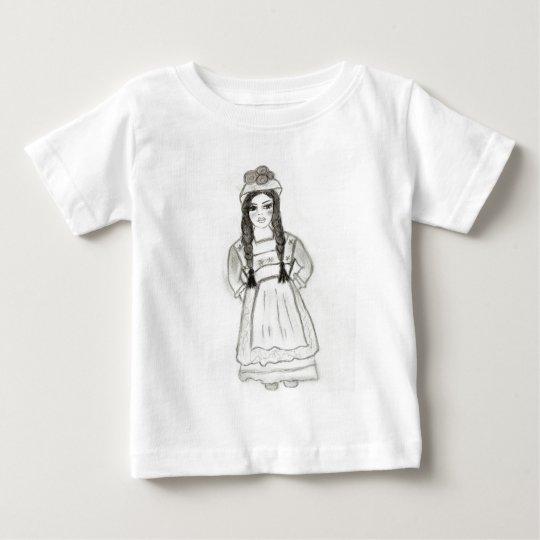 Little German Girl Baby T-Shirt