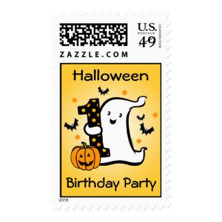 Little Ghost 1st Birthday Stamp