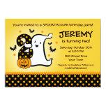 Little Ghost 2nd Birthday 5x7 Paper Invitation Card