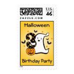 Little Ghost 3rd Birthday Stamp