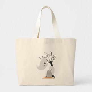 Little Ghost Canvas Bag