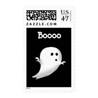 Little ghost - Boooo Postage Stamp
