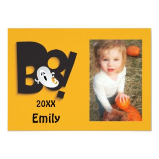 Little Ghost Customized Halloween Photo Frame