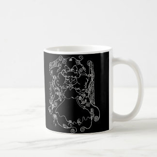 Little Ghost Girl- in White Coffee Mug
