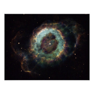 Little Ghost Nebula NGC 6369, in Ophiuchus Print