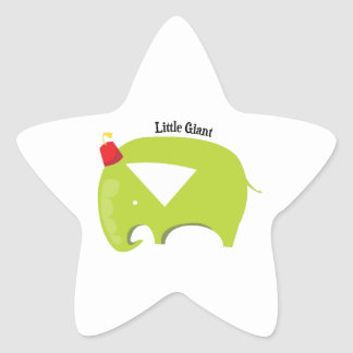 Little Giant Star Stickers
