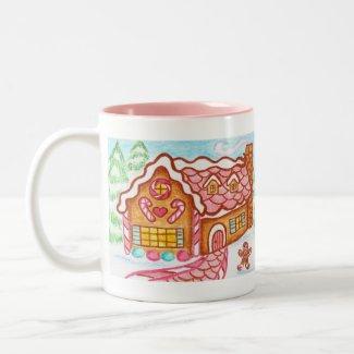 Little Gingerbread House Mug mug