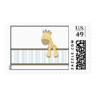 Little Giraffe {Blue} | Stamps