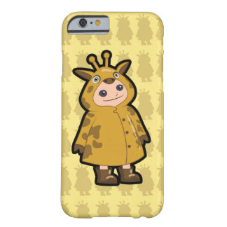 Little Giraffe Rain Coat Barely There iPhone 6 Case