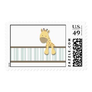 Little Giraffe {Teal} | Stamps