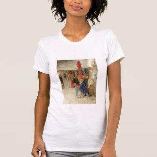 Little Girl at Spinning Wheel T-Shirt
