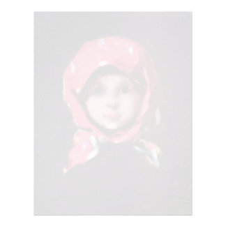Little Girl By Grigorescu Nicolae Best Quality Letterhead Template