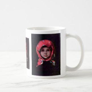 Little Girl By Grigorescu Nicolae Best Quality Coffee Mug