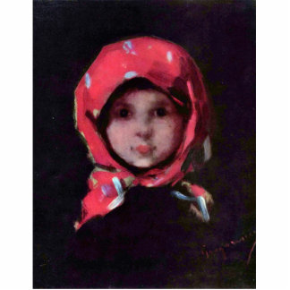 Little Girl By Grigorescu Nicolae Best Quality Photo Sculptures