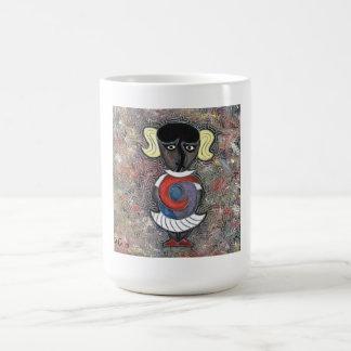 Little girl by rafi talby coffee mug