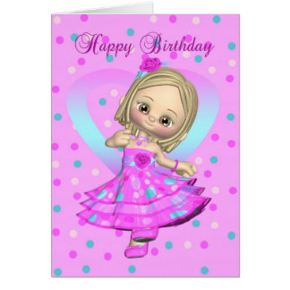 dancing birthday greeting cards  zazzle, Birthday card