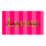 Little Girl Enclosure Cards Double-Sided Standard Business Cards (Pack Of 100)