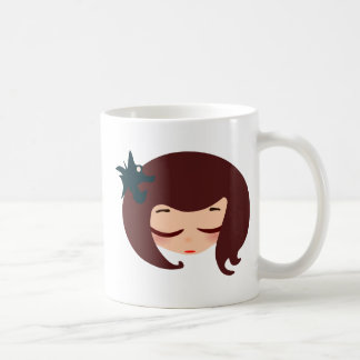 little girl face coffee mugs