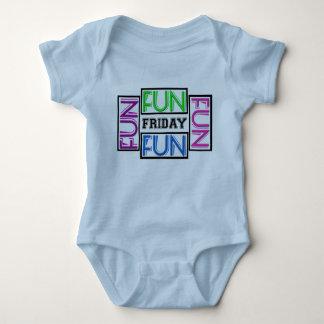 Little Girl Fun Friday Shirt! Baby Bodysuit