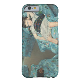 Little Girl in a Blue Armchair, 1878 (oi Barely There iPhone 6 Case