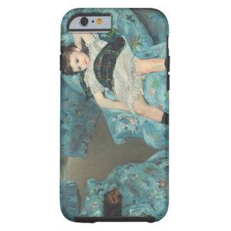 Little Girl in a Blue Armchair, 1878 (oi Tough iPhone 6 Case