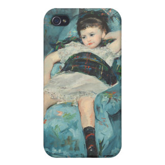 Little Girl in a Blue Armchair, 1878 (oi iPhone 4/4S Covers