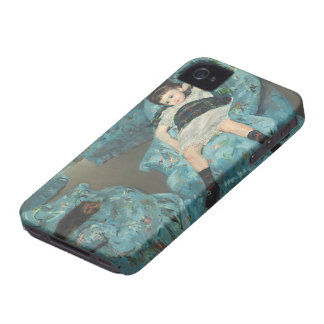 Little Girl in a Blue Armchair, 1878 (oi iPhone 4 Case-Mate Cases