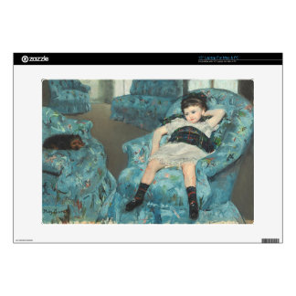 Little Girl in a Blue Armchair, 1878 (oi Laptop Decal