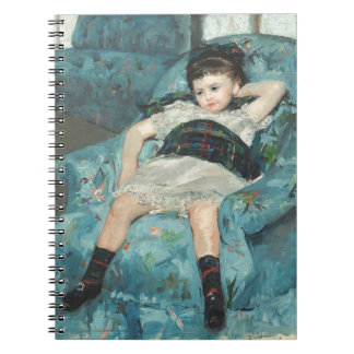 Little Girl in a Blue Armchair, 1878 (oi Notebook