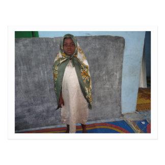 Little Girl in Ghana Postcard