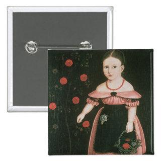 Little Girl in Lavender, c.1840 Button