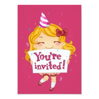Little Girl Invite