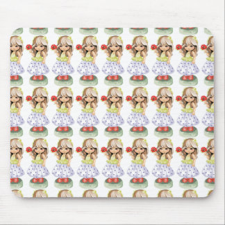 Little Girl Mouse Pad