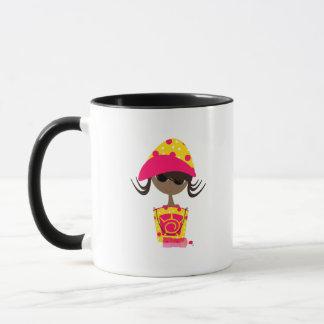 Little Girl on the Beach Mug