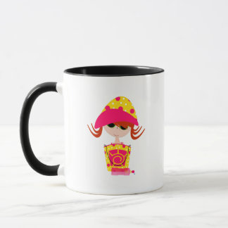 Little Girl on the Beach Mug
