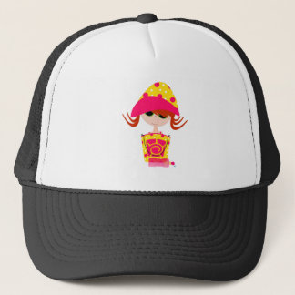 Little Girl on the Beach Trucker Hat