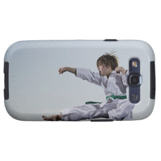 Little girl practicing karate samsung galaxy s3 cover