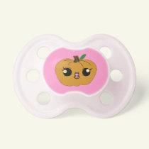 Little Girl Pumpkin Baby Pacifiers