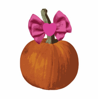 Little Girl Pumpkin Acrylic Cut Outs