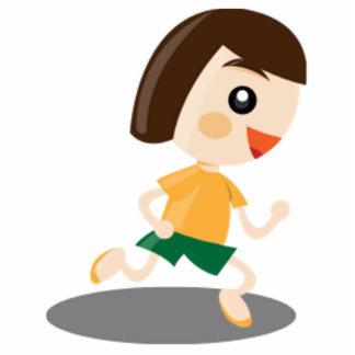 Little Girl Running Statuette