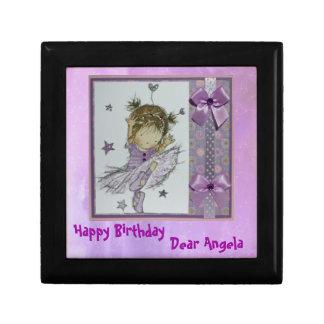 Little Girl s Birthday gift box -Customize