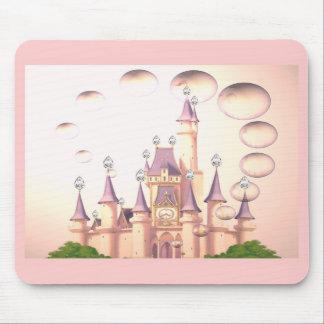 Little Girl s Princess Castle Birthday Invitations Mouse Mats